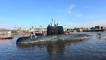 Wrack im Meer vor Argentinien: US-Experten entdecken verschollenes U-Boot