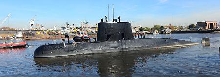 Neue Hoffnung in Argentinien: US-Experten entdecken verschollenes U-Boot