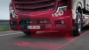 Neue Technik gegen schwere Unfälle: Wie die Lkw-Zukunft im Straßenverkehr aussehen könnte