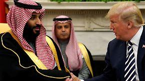 Kronprinz als Drahtzieher?: Trump kündigt Bericht zu Khashoggi-Mord an