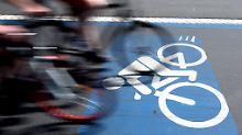 Radfahrer dürfen vieles, aber nicht alles.