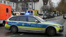 Geiselnahme in Bochum: Polizist bedroht Frau in Tankstelle
