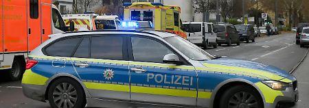 Polizei-Großeinsatz in Bochum: Bewaffneter verschanzt sich in Tankstelle