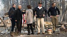 Tödliches Feuer in Kalifornien: Vorher-Nachher-Bilder aus dem zerstörten Paradise