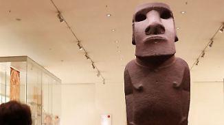 """""""Vorfahre"""" statt Trophäe: Osterinsel fordert Moai-Statue von Großbritannien zurück"""