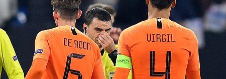 Schocknachricht in der Pause: Darum weinte der Referee nach DFB-Spiel