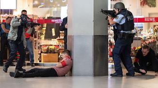 Anti-Terror-Übung am Airport Köln-Bonn: 1000 Polizisten simulieren islamistischen Anschlag mit Toten