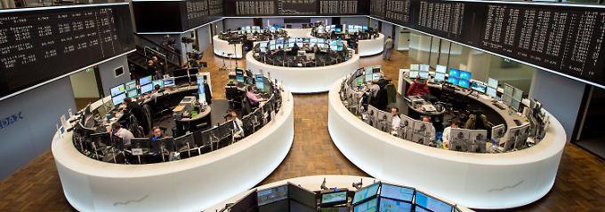 Blutroter Börsentag in Frankfurt: Dax fällt unter 10.900 Punkte