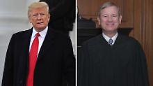"""Richter weist Trump zurecht: """"Keine Obama-Richter oder Trump-Richter"""""""