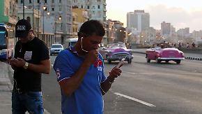 Mit dem Smartphone in die Zukunft: Junge Blogger erobern Kuba