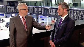 """Frank Meyer spricht mit Martin Utschneider: """"Dann ist Weltuntergangsstimmung, Rezession in Europa"""""""