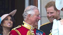 Nachwuchs von Harry und Meghan: Prinz Charles plaudert über Babynamen