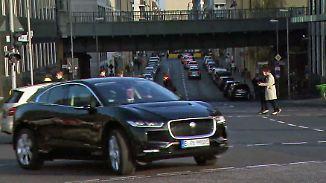 Alltagstest mit Jaguar I-Pace: Luxus-Service chauffiert vollelektrisch durch Berlin