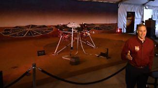 """Sonde erreicht Mars unbeschadet: Nasa bejubelt erfolgreiche """"Insight""""-Landung"""