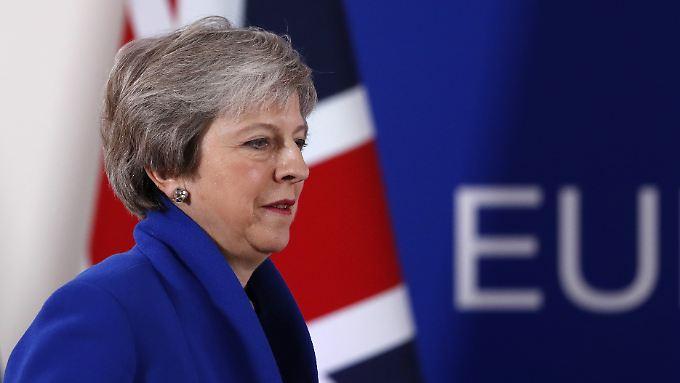 Mit seiner Kritik war Donald Trump der britischen Premierministerin zum wiederholten Mal in den Rücken gefallen.