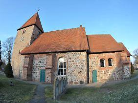 Die St-Bartholomäus-Kirche in Kirchwalsede (Landkreis Rotenburg).