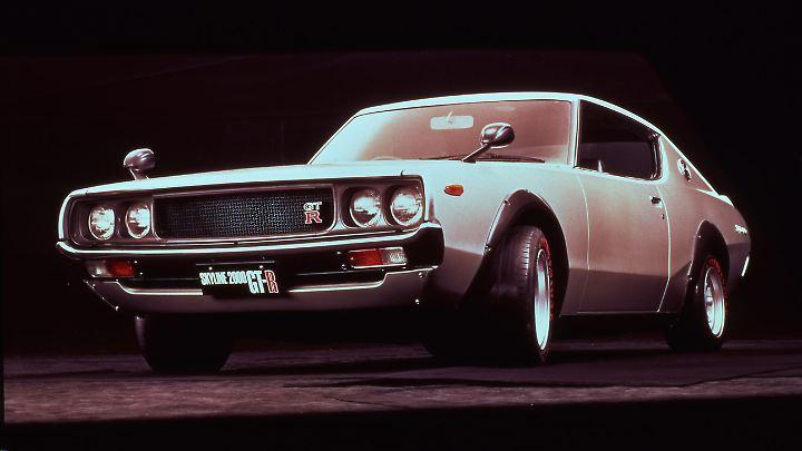 Nissan Skyline GT-R Typ C110 ab 1972.