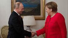 Merkel spricht mit Putin: Normandie-Format soll Ukraine-Krise lösen
