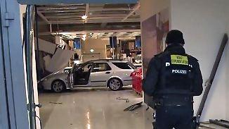 Kaum zu glauben, aber wahr: Führerscheinlose kracht mit Auto in Rostocker Ikea