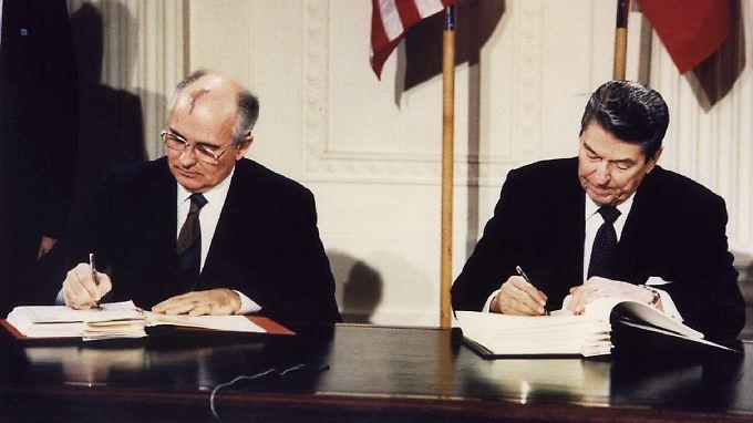 Das Abrüstungsabkommen gilt seit dem Jahr 1988.