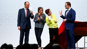 Kampf um Merkel-Nachfolge: AKK, Merz, Spahn - Wer hat die besten Chancen?