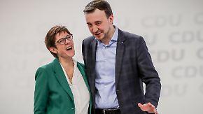 """Schwaches Wahlergebnis als """"Ansporn"""": CDU macht JU-Chef Ziemiak zum neuen Generalsekretär"""