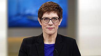 Neue CDU-Chefin bei Anne Will: Kramp-Karrenbauer redet sich in Rage