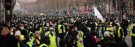 Eine mächtige Protestwelle erschüttert Frankreich.