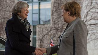 May hofft auf Merkels Unterstützung: Juncker schließt Brexit-Nachverhandlungen kategorisch aus