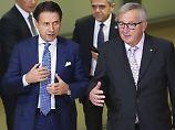 Überarbeitete Zahlen im Gepäck: Italien will Haushaltsstreit endlich klären