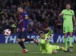 Einspruch droht: Barcelona schafft Sprung ins Pokal-Viertelfinale