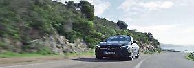 Ein Auto wie gemalt: Mercedes reduziert Weltneuheit CLA auf sinnliche Klarheit