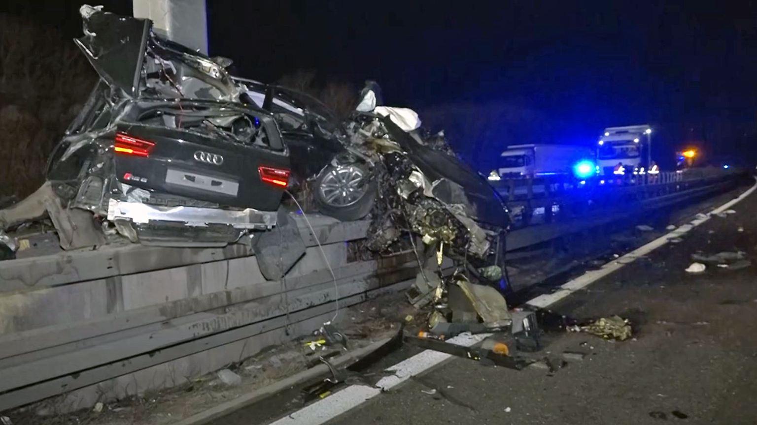 Unfall B35 Gondelsheim
