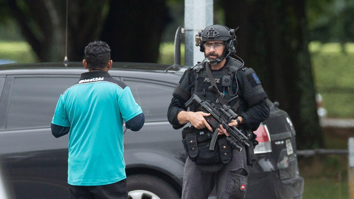 Neuseeland Terror Detail