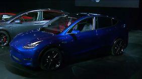 Konkurrenz in den Startlöchern: Tesla will mit sportlichem SUV angreifen