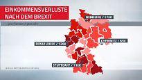Bis zu 170 Euro weniger pro Jahr: Brexit sorgt hierzulande für Einkommensverluste