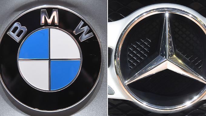 In immer mehr Bereichen arbeiten die Konkurrenten BMW und Daimler mittlerweile zusammen. Aber eine Fusion ist (noch) schwer vorstellbar.