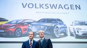 Als erster deutscher Autokonzern: Volkswagen will eigene Batteriezellen produzieren
