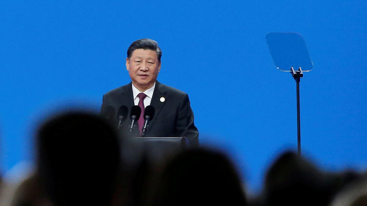 Chinas Präsident appelliert an Landsleute