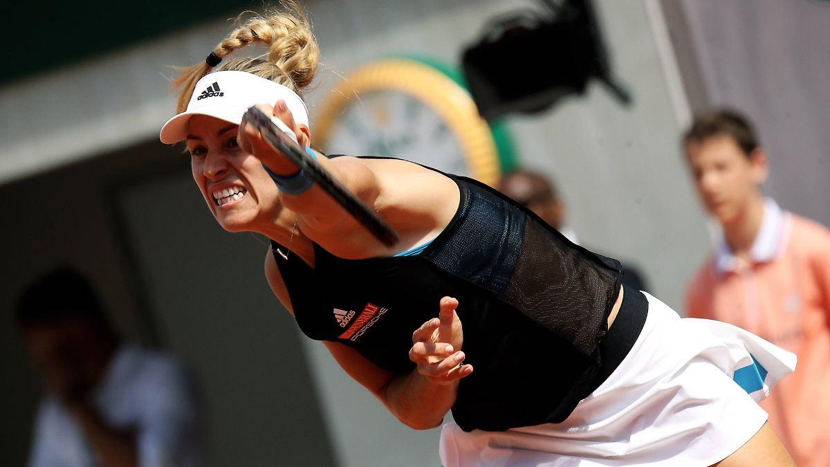 Kerber kämpft sich umsonst zu French Open