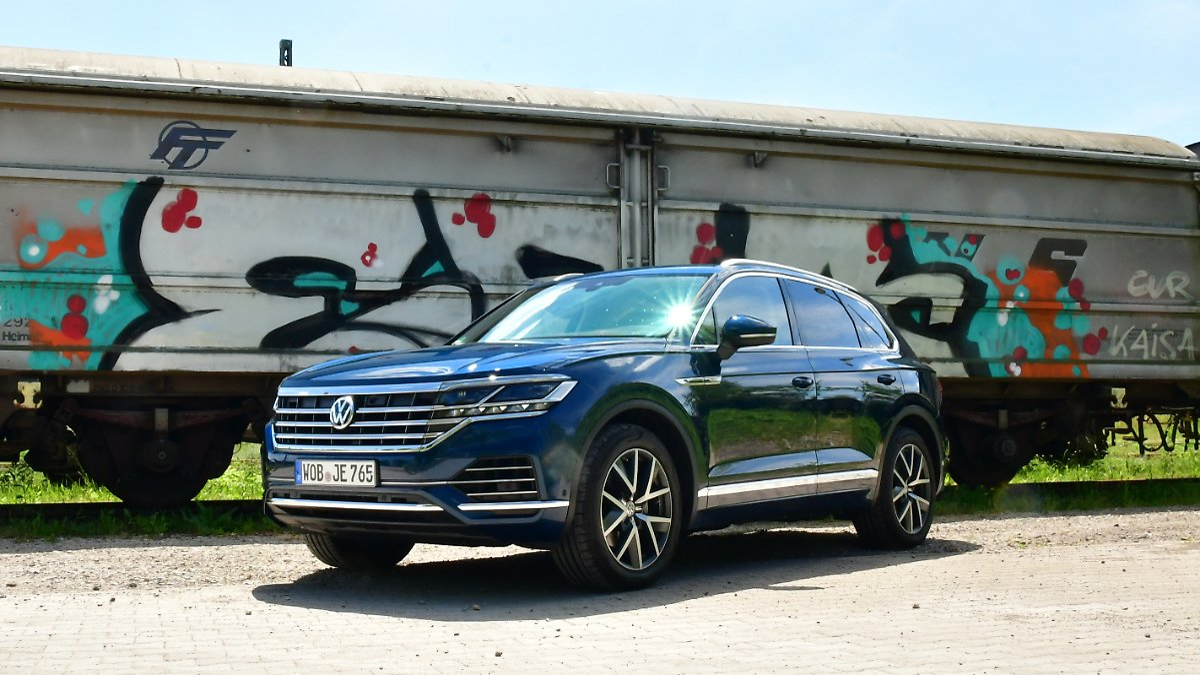 VW Touareg - Diesel-Trumm im Praxistest
