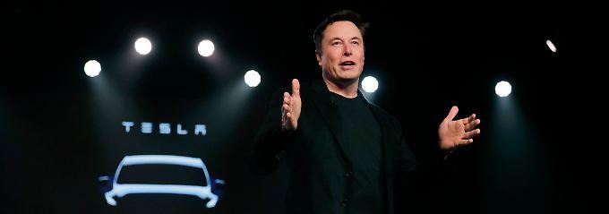 Beruhigungspille für Aktionäre: Tesla-Chef Musk prophezeit Rekordquartal