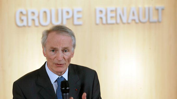 Jean-Dominique Senard ist seit Januar neuer Präsident des Verwaltungsrates von Renault.