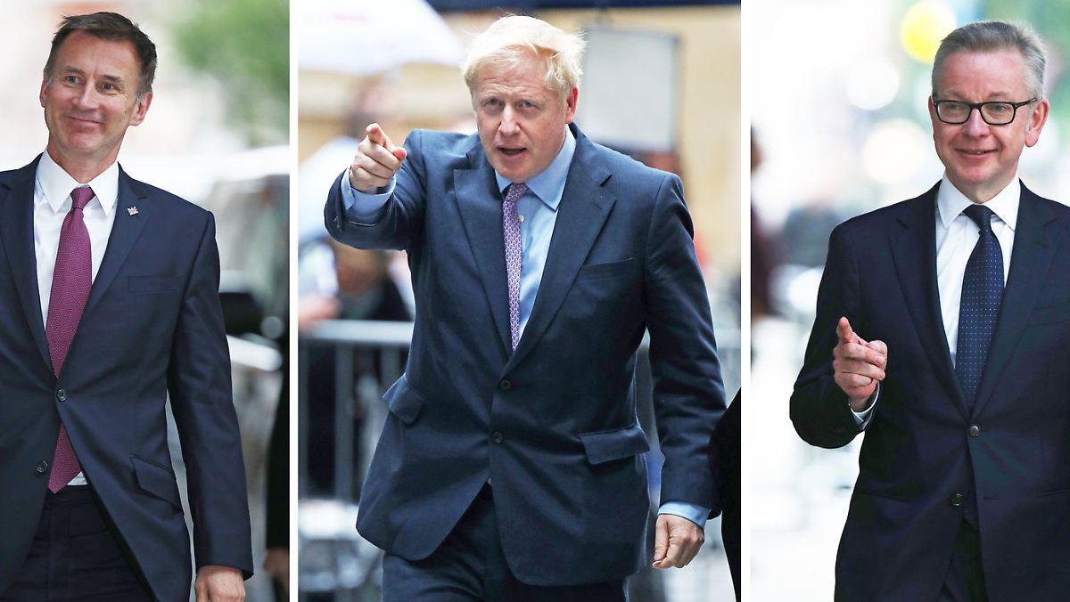 Javid fliegt aus dem Rennen um Tory-Vorsitz