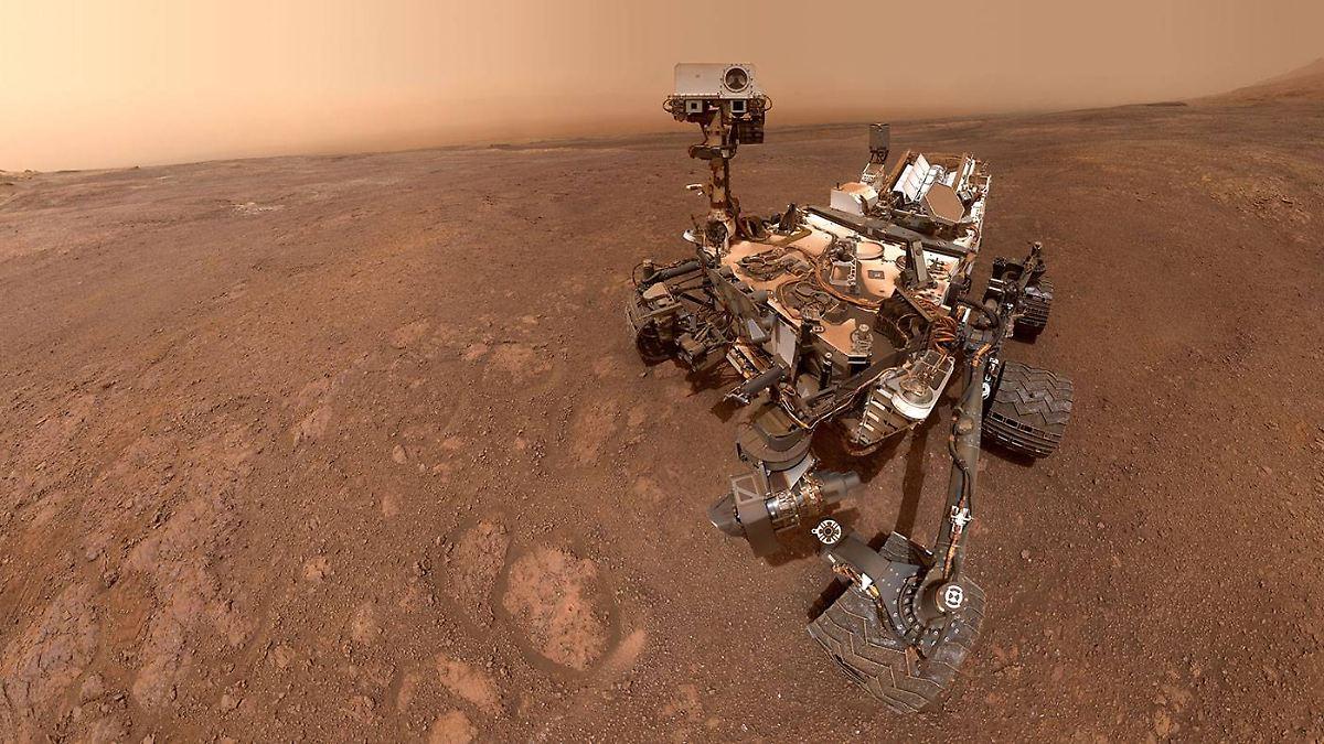 Mars-Rover gelingt spektakuläre Entdeckung