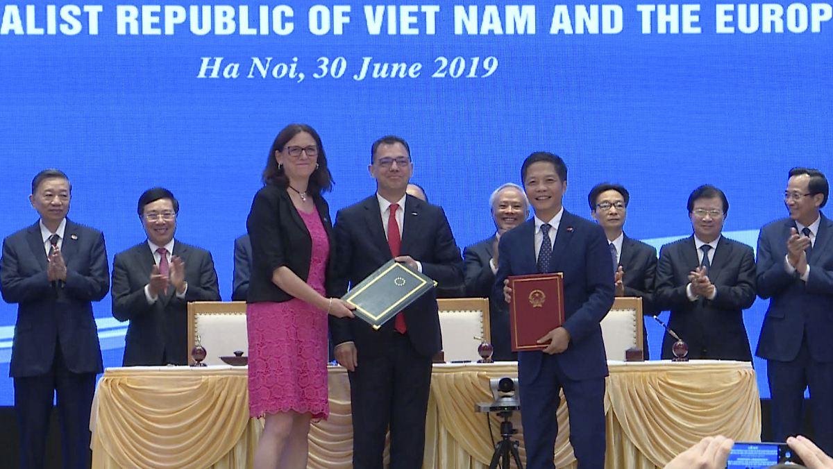 """""""Wahrer Meilenstein"""" für die EU : Handelsabkommen mit Vietnam steht"""