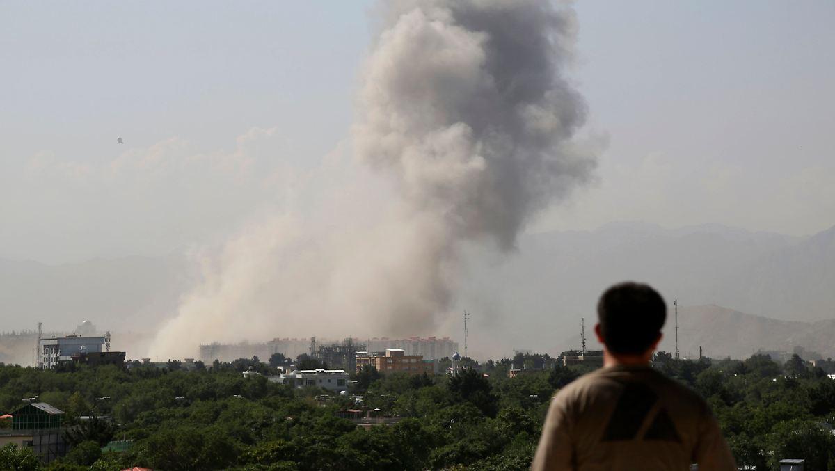 Taliban verüben Anschlag in Kabul