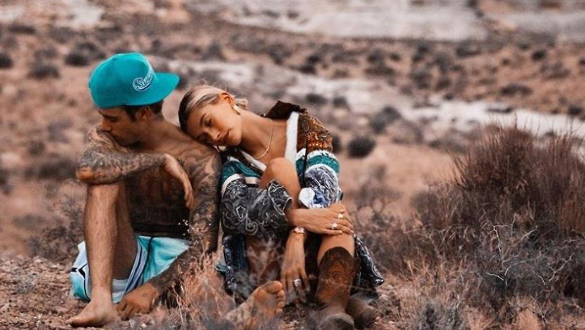Hailey Bieber sendet Liebesschwüre