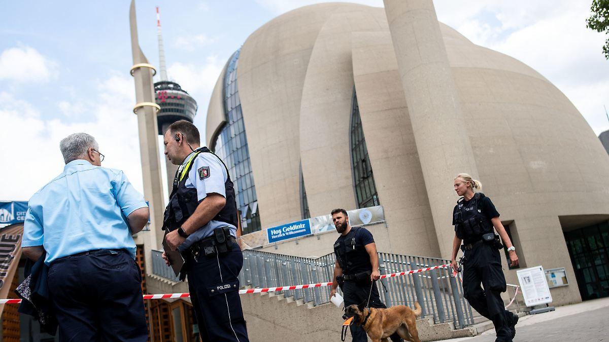 Bombendrohung auf Kölner Zentralmoschee