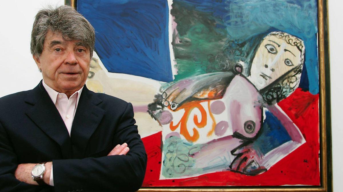 Kunstsammler Frieder Burda ist tot